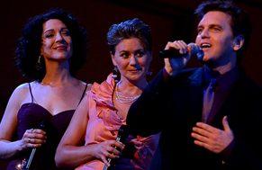 Jen Burleigh Bentz, Joanna Jahn and John Trones at St Louis Premiere