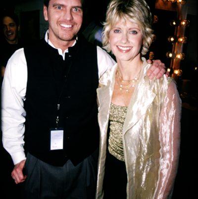 John and Olivia Newton John in Salt Lake for PBS
