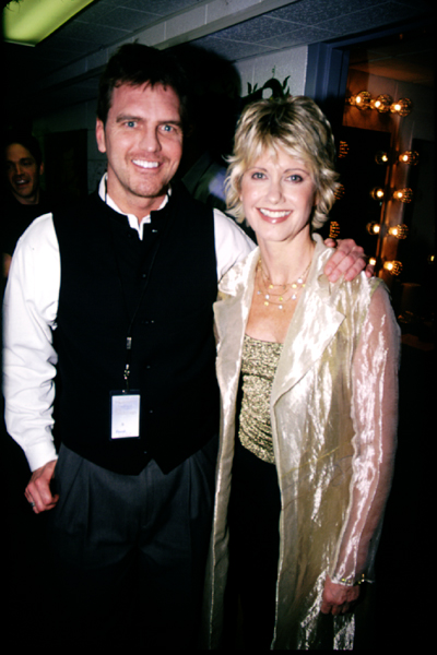 John and Olivia Newton John in Salt Lake for PBS