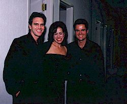 John with Ann Cochran and Donny Osmond