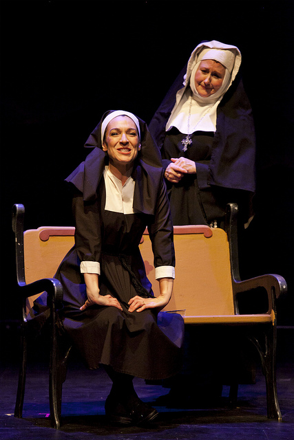 Maria with the Reverend Mother
