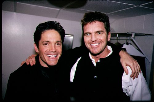 With Dave Koz